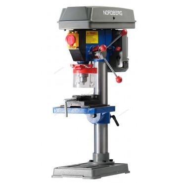 Станок сверлильный (450Вт, 13мм, макс расстояние до стола 255мм, 5 скоростей, тиски) NORDBERG ND1352