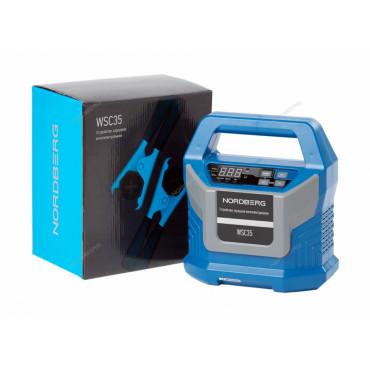 Устройство зарядное интеллектуальное 12/24V максимальный ток 15A NORDBERG WSC35