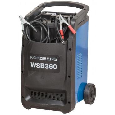 Устройство пускозарядное 12/24V максимальный ток 360A NORDBERG WSB360