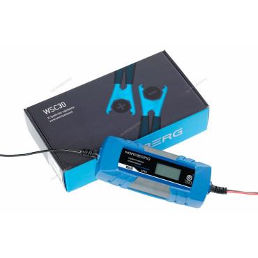 Устройство зарядное интеллектуальное 6/12V максимальный ток 4A NORDBERG WSC30