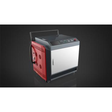 Лазерная установка для очистки металла непрерывного действия  StrongBEL 1000 Вт