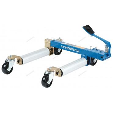 Домкрат подкатной гидравлический для перемещения авто, г/п 680 кг NORDBERG N3S2